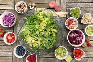 perte de poids : repas équilibré