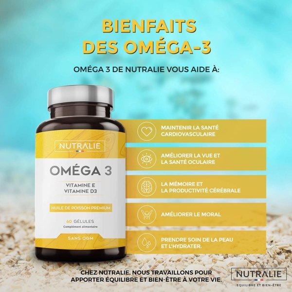 Huile de poisson Nutralie Bienfaits Omega 3