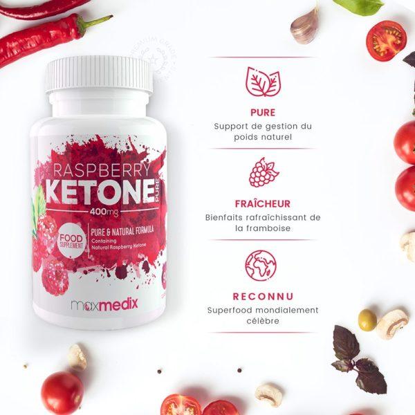 Raspberry Ketone Pure par MaxMedix
