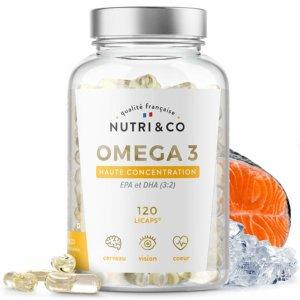 huile de poissons sauvages riche en oméga 3 par Nutri & Co